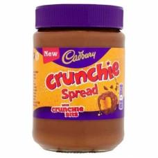 Шоколадная паста Cadbury Crunchie с кусочками медовых сот 400гр