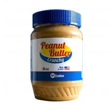 Арахисовая паста SFI Peanut Butter Crunchy 510гр с дробленным орехом