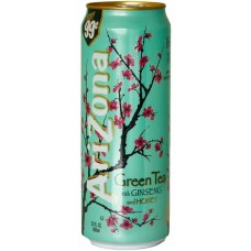 AriZona Green Tea with Ginseng and Honey, 680ml