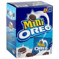 Печенье Oreo Mini 160гр мини с ван. кремом