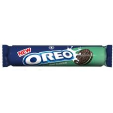 Печенье Oreo Mint Creme 154гр  с ментолом