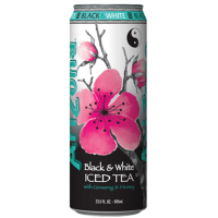 AriZona Iced Tea Black & White, 680ml