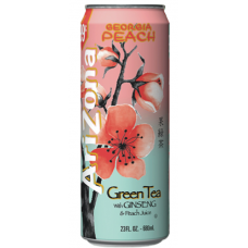 AriZona Green Tea with Ginseng & Peach, 680ml
