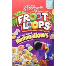 Сухой завтрак Froot Loops Marshmallows, 357гр.