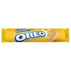 Печенье Oreo Golden 154гр (с ванильным кремом)