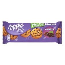 Печенье Milka Choco Cookies Raisins, 135гр