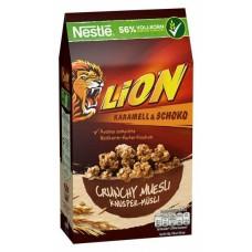 Сухой завтрак Nestle Lion Caramel & Choco, 420гр.