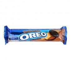 Печенье Oreo Double Delight 137гр  с арахисовым маслом и шоколадным кремом