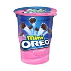 Печенье Oreo mini с клубничным кремом, 67гр