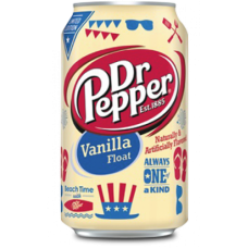 Dr Pepper Vanilla Float, 355ml