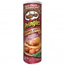 Pringles Sausage & Crispy Bacon, 190гр