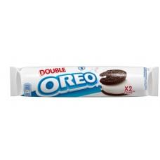 Печенье Oreo Double Crème 185гр с двойным кремом