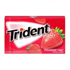 Жев. резинка Trident Strawberry Twist, 14pcs.