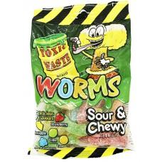 Мармелад Toxic Waste Worms, 142гр.