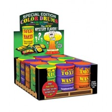 Леденцы Toxic Waste Special Edition Color Drums, 42гр.