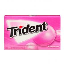 Жев. резинка Trident Bubble Gum, 14pcs.