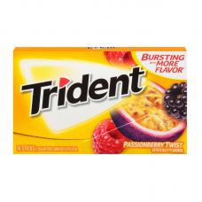 Жев. резинка Trident PassionBerry Twist, 14pcs.