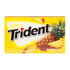 Жев. резинка Trident Pineapple Twist, 14pcs.