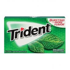 Жев. резинка Trident Spearmint, 14pcs.